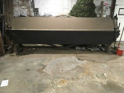 12' Chicago Dreis & Krump Brake Metal Bender - 12 foot