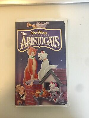 A Walt Disney Masterpiece The Aristocats (VHS 2529, ISBN 0-7888-0421-9)