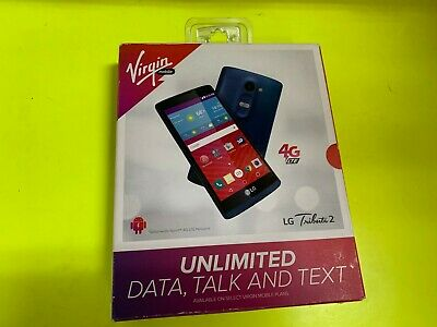 NEW VIRGIN MOBILE LG Tribute Dynasty 4G LTE 5