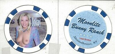 """New***Brothel Chip****Moonlite Bunny Ranch****Moundhouse, Nv****** """"Jolay"""""""