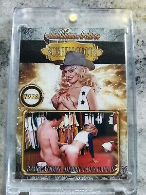 Bambi Woods 2/2 trading card