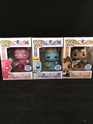Monster Cereal Ad Icon Set Funko Pop NEW!