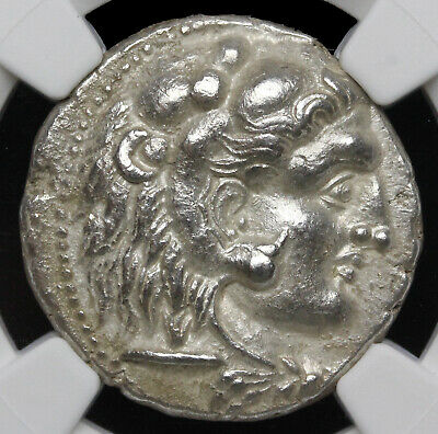 Alexander III 'the Great'. 336-323 B.C. AR tetradrachm, NGC Ch XF.