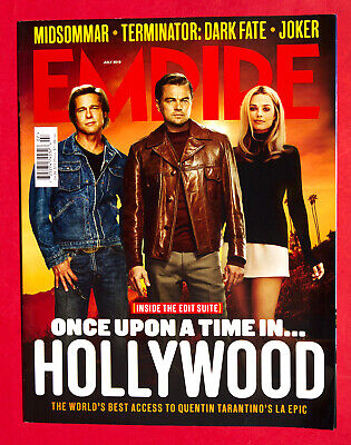 EMPIRE MAGAZINE - UK July - 2019 - ONCE UPON A TIME IN HOLLYWOOD Brad Pitt