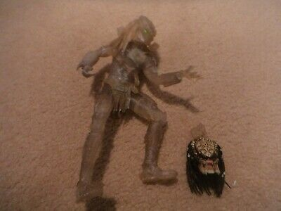 7 inch predator action figure camouflaged invisible