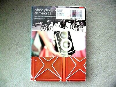 Adobe Photoshop Elements 12 for Windows and MacOS NEW in sealed box