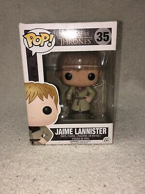 Funko Pop! Game of Thrones Jaime Lannister Gold Hand #35 Vaulted/Retired