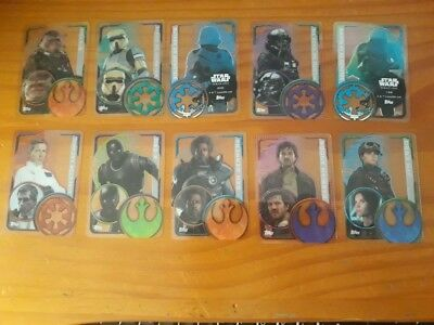 Topps Star Wars ROGUE ONE Trading cards - Plastic card, EDICION ESPAÑOLA