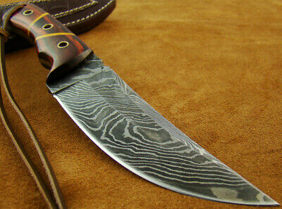 Alistar Superb Handmade Damascus Steel Hunting/Bowie Knife With Sheath 91453-2-R
