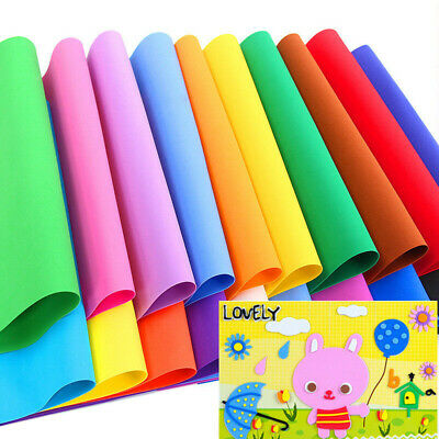 2pcs 50x50cm EVA Foam Sheets Sponge Scrapbooking Kids DIY Supplies Handcrafts