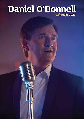 Daniel O'Donnell Official A3 Calendar 2020 New Office Product Book