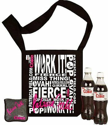 Diet Coke Coca Cola Patricia Field Reusable Shopping Bag Brand New With Tags