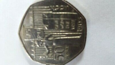 RARE /COLLECTABLE * SUFFRAGETTE * 50p COIN 2003