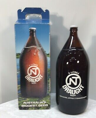 Collectable NT Draught 2 litre Darwin Stubby - In Box