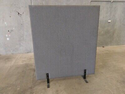Office Partition/Room Divider Grey Fabric 1500mmW x 1800mmH