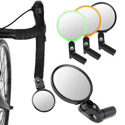 Stainless Steel Bicycle Mirror Handlebar Rear View Reflector Universal