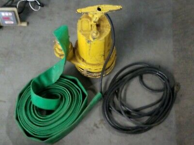 "Jameson 10,000 GPH High Output Industrial Water Pump with 2"" hose 110V"
