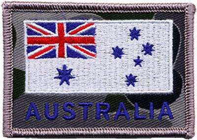 Royal Australian Navy RAN Ensign on DPNU Embroidered Patch