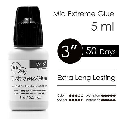 Long Lasting Eyelash Extension Glue Mia Extreme Lash Adhesive Fast Strong