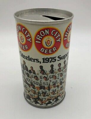 Tool Box  Magnet Vintage Iron City  Beer Can  Refrigerator