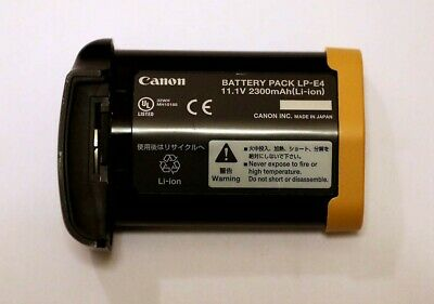 Genuine Canon Lpe4 Battery Pack. Excellent Used Condition