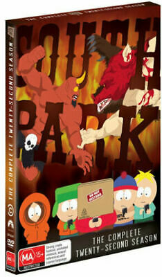 South Park Season 22 DVD with Bonus Features Brand New Sealed