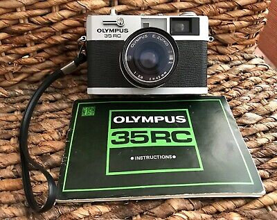 OLYMPUS 35 RC Camera With Instructions Rare