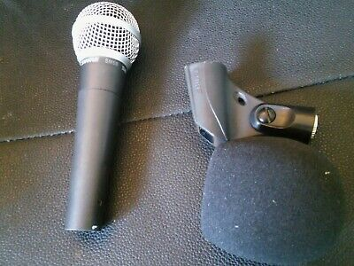 Shure SM58 Dynamic Microphone - Great Condition,  used