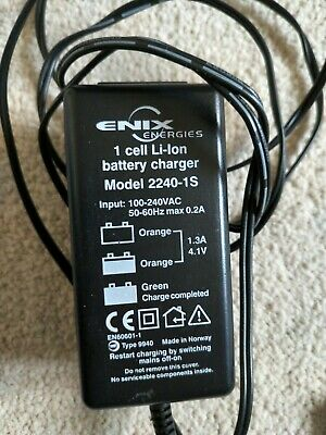 Enix Energies - 2240-1S - Battery Charger, Li-Ion 4.1V 1.3A
