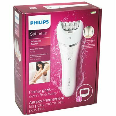 Philips Satinelle Advanced Wet and Dry Epilator BRE610