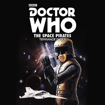 DOCTOR WHO: THE SPACE PIRATES -CD Audiobook Novelisation NEW & SEALED Audio Book