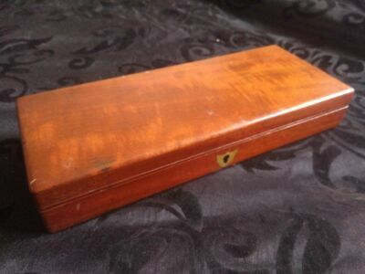 Antique Wooden Box For Small Pistol or Instruments