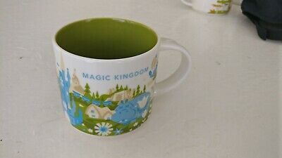 Disney Magic Kingdom Starbucks You Are Here Mug 14 oz