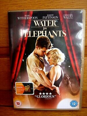 """Water For Elephants"" (DVD, 2011) starring Reese Witherspoon."