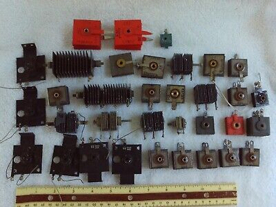 Large Lot Of Used Selenium Rectifiers