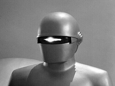1951s THE DAY THE EARTH STOOD STILL robot Gort activates eye-coil b/w 8x10 scene