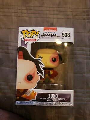 Zuko Funko POP! #538 Nickelodeon Avatar The Last Airbender Animation Non-chase