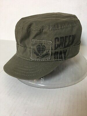 Green Day Military Style Hat Bio-Domes Cotton OSFA