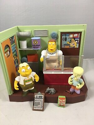 Simpsons World Of Springfield Elementary Cafeteria Lot