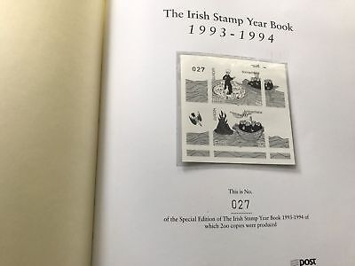1993 1994 Ireland Libro Folder Yearbook Year Special Edition LE of 200 + Box