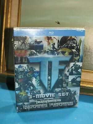 Transformers Blu-Ray Trilogy 3-Movie Set Brand New & Factory Sealed