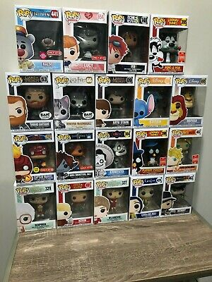 HUGE Lot Funko POP SDCC ECCC Vaulted Disney Hot Topic Chase Figure You Choose