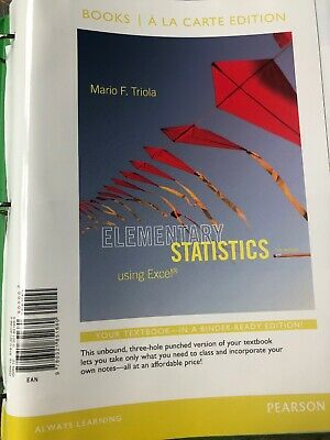 ESSENTIALS OF STATISTICS, Books a la Carte Edition (6th