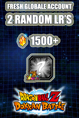 💥Fresh Account💥Dokkan Battle💥Global Android💥1500+ Ds + 2 Lr 💥