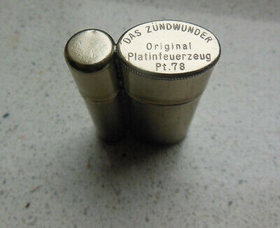 vintage catalytic methanol lighter - ca. 1930 -  DAS ZUENDWUNDER  -  Germany