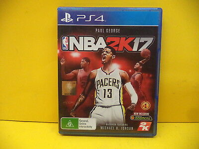 Sony Ps4 Nba 2K17 Game