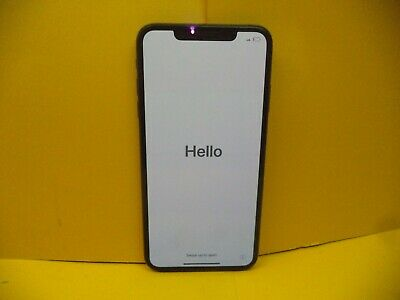 Apple iPhone XS MAX- 256GB - Space Grey Unlocked  A2101