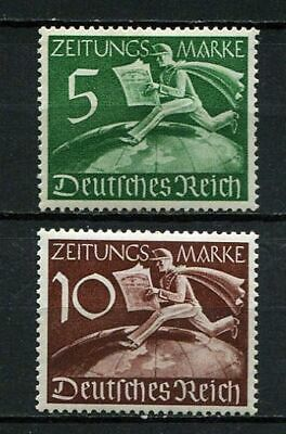 German Reich WW II : Newspaper stamps set from 1939 - mint