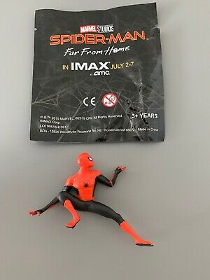 SPIDER-MAN FAR FROM HOME AMC IMAX FIGURINE MARVEL STUDIO Loose RARE FIGURE