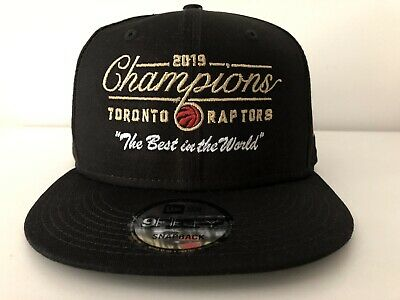 OVO x Toronto Raptors Championship Collection Best In The World Hat Snapback